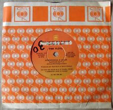 """PINK FLOYD 45 PROMO Learning To Fly SOUTHAMERICA 7"""" 1987 Spanish Titles"""