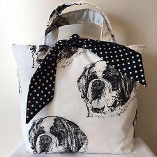 St Bernard Dog Print Bag