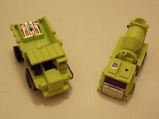 Vintage Hasbro G1 Transformers Action Figure Lot of 2 from Devastator Combiner.