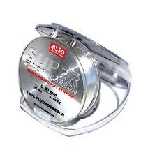 Asso Vorfach Fluorocarbon Angeln Schnur UltraLow Stretch 50m 0,30mm