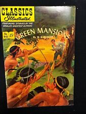 Classics Illustrated #90 Green Mansions by W.H. Hudson (Hrn 89) 1st 1951 Fine+