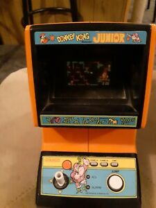 Donkey Kong Jr by COLECO Electronic TABLETOP Mini Arcade