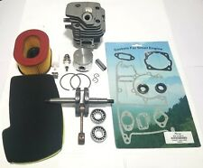 Cylinder kit For Partner K650, K700 Overhaul + gasket set + Air filter US Seller