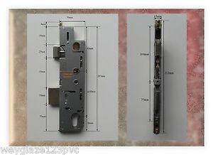 GU OLD TYPE 35mm BACKSET LOCK CASE/GEARBOX/MECHANISM FOR UPVC DOOR