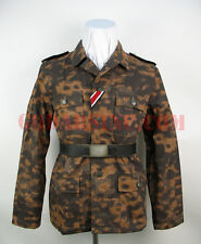 WWII German Autumn Blurred Edge Camo M43 Field Tunic XL