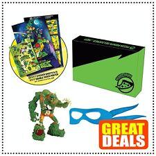 Teenage Mutant Ninja Turtles TMNT Muckman Collection Figure Set Leonardo Bandana