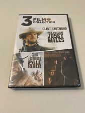 3 Clint Eastwood Classic Westerns Unforgiven The Outlaw Josey Wales Pale Rider