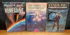 HOMEGOING / COMING OF THE QUANTUM CATS / VENUS, INC. SIGNED By Frederik Pohl