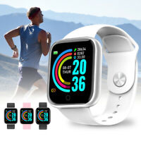 Montre intelligente Sport Bracelet Bluetooth Fitness Tracker Fréquence cardia ST