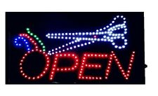 NEW Animated LED Neon LED OPEN Sign for Hair Salon Barber Shop Fast Ship from NY