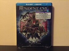 Resident Evil The Complete Collection Steelbook [Blu-ray + Digital HD] BRAND NEW