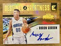 AARON GORDON 2017-18 Panini Essentials Destined for Greatness Signatures/99 AUTO