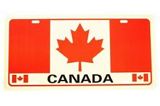 CANADA Country Flag Souvenir CAR LICENSED PLATE..SIZE: 12 X 6 INCH .. New