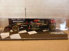 Minichamps 1:43 Romain Grosjean Lotus Renault E22 F1 2014 Race car