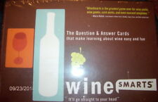 Wine Smarts Question & Answer Cards ~ Learning About Wine Game ~ New