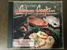 Easy Chef's Cajun Cooking 2005 CD-ROM over 650 recipes w/ search engine *RARE*