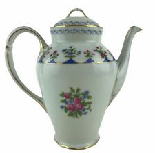Bernardaud Limoges France Chateaubriand Porcelain Coffeepot & Lid Made In France