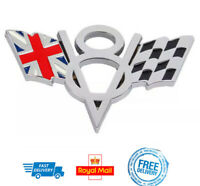 V8 3D Metal Badge UK Flag Truck Car Boot Sticker GB England Union Jack Logo Jag