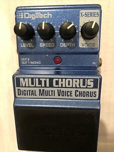 Digitech Multi Chorus Guitar Effect Pedal: Tested And Working Properly: Nice