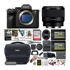 Sony Alpha a7S III Mirrorless Digital Camera with 50mm Prime Lens Bundle