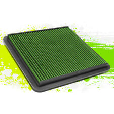 HIGH FLOW DROP IN AIR FILTER REUSABLE FOR 08-17 TOYOTA LAND CRUISER 5.7L GREEN