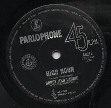 """BOBBY AND LAURIE     Rare 1966 Aust Only 7"""" OOP Beat Rock Single """"High Noon"""""""