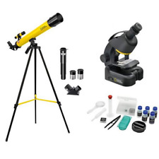 National Geographic 50/600 Advanced Telescope & Microscope Bundle Kit Set