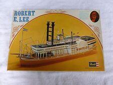 """VINTAGE REVELL ROBERT E. LEE SHIP PLASTIC MODEL KIT H323 15"""" LONG 1972 UNBUILT"""