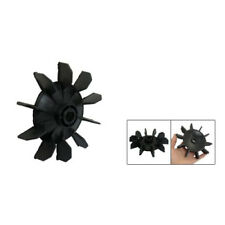 New Air Compressor Part Black Plastic 14mm Inner Dia. Ten Vanes Motor Fan B R7K4