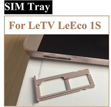 Sim Sd Memory Card Tray Holder for LeTV LeEco Le 1S ONE S LE TV ONE S Rose Gold