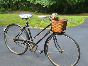 Vintage Made in England pre-World War II PHILLIPS Womens Bicycle