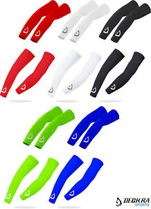 Deckra Arm Sleeves Cycling Arm warmers UV Sun Protection Stretchy Breathable