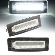 2X LED Number License Plate Light For Smart Fortwo Coupe Convertible W450 W451