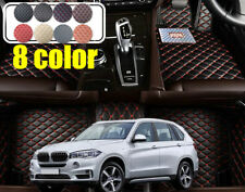 RHD Auto floor mats For BMW X5 F15 5 seats 2014 2015 2016 Right hand drive car