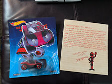 2017 SDCC Comic Con Hot Wheels Marvel Spider-Mobile Deadpool Dead-Buggy Variant