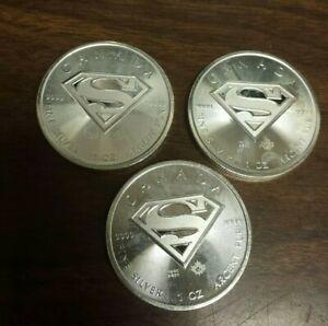 2016  Canada $5 Silver 1 Oz. Coin - Superman