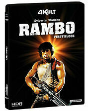 Rambo First Blood (2 Blu Ray 4K UHD + Blu Ray) Édition 4KULT Sylvester Stallone