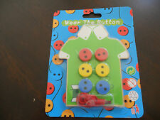 Wooden Sew On The Button Early Education Teaching Aid