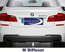 Original BMW F10 F11 M Diffusor für M Heckschürze Blende Heckdiffusor M550d 550i