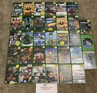 Original Xbox Game Lot Of 33 Games - For Resurfacing Sold As Is Untested