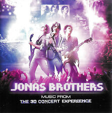 Jonas Brothers ~ Music from the 3D Concert Experience ~ Soundtrack CD