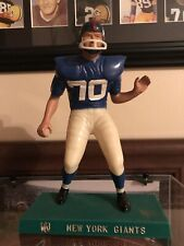 1960's Rare Vintage New York Giants Lineman Football Hartland Plastic Statue