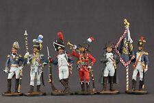 ELITE tin toy painted soldiers 54mm . Napoleon set