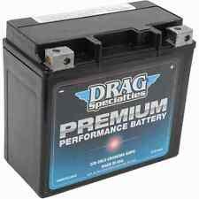 Drag Premium Performance 320 CCA Cold Cranking Amp 20L Battery Harley Metric