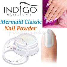 Indigo Mermaid Effect Nails Art Powder Glimmer Shimmer Dust Trend Syrenka