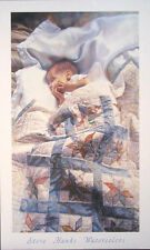 "Steve Hanks(1949-2015) ""Crib Quilt"" open ed 19.25""x32"""