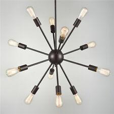 12-Light Sputnik Chandelier Star Pendant Hanging Lighting Kitchen Dinning Light