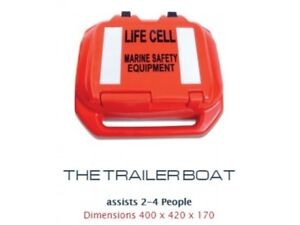 Life Cell Marine Safety - Trailer Boat Kit - 2 - 4 Person - BLA  226451