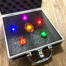 Marvel The Avengers Iron Man Thanos Infinity Stones Light 1:1 Toy Cosplay Prop