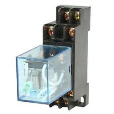 HH52P DC 24V Coil DPDT 8 Pins Electromagnetic Power Relay with DYF08A Base, L6L0